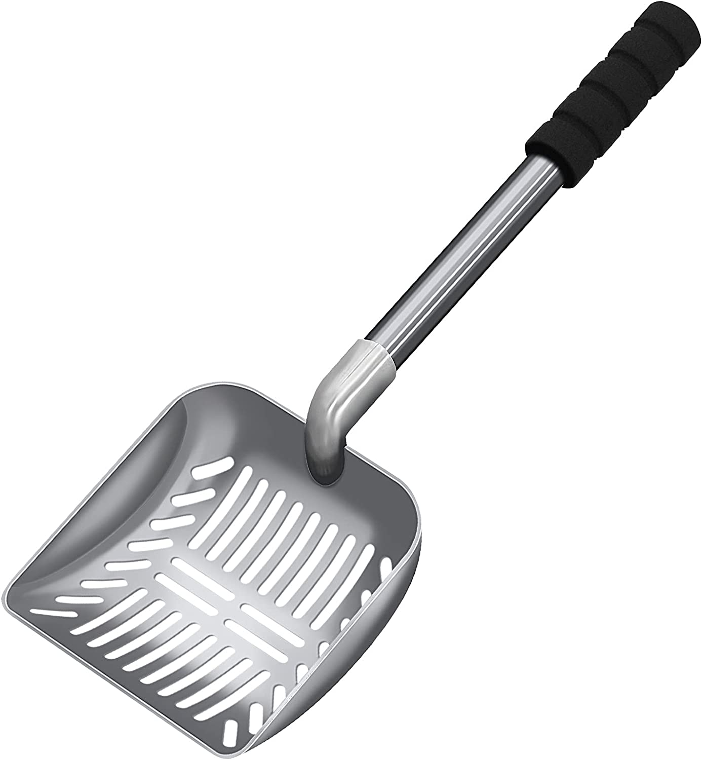 Anawin Cat Litter Scoop with Dee Handle Alloy Denver Mall National uniform free shipping Aluminum Silicone