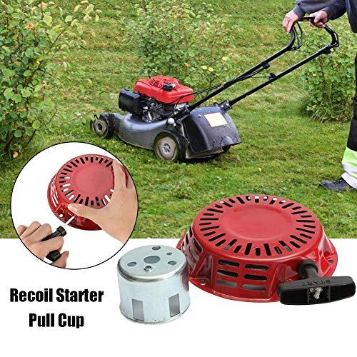 Hete-supply Nieuwe Recoil Starter, grasmaaier Start trekker, grasmaaier motor vervanging onderdelen, Recoil Starter met Start Cup Fit voor Honda Generator
