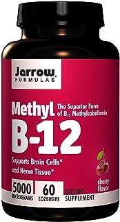 Jarrow Formulas, Methyl B-12, Cherry Flavor, 5000 mcg, 60 Lozenges
