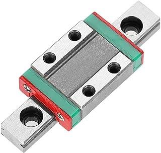 Linear Guide Rail, 9mm LML9B Miniature Linear Rail Guide with Bearing Steel Rail Block for Mini Rail Block Precision Measurement Set(2#)