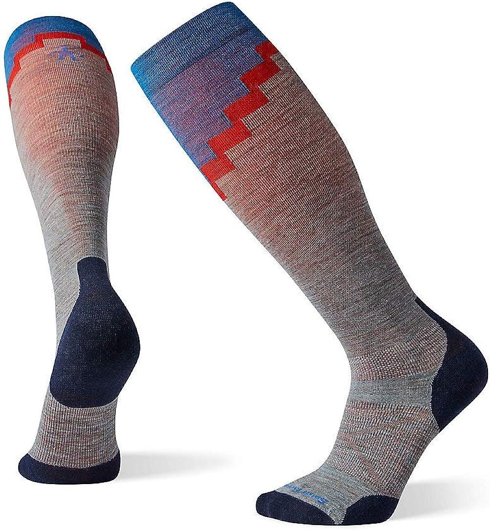 Smartwool Men's PhD Pro Mountaineer Over-the-Calf Light Elite Merino Wool Socks