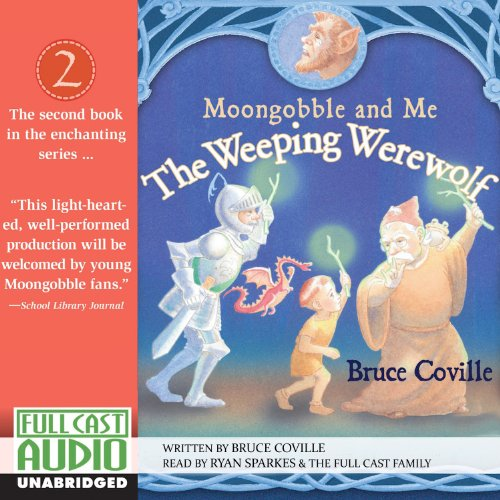 The Weeping Werewolf audiobook cover art