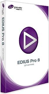グラスバレーEDIUS Pro 8  SD HD 4Kノンリニアビデオ編集ソフトウェア教育ボックスバージョン
