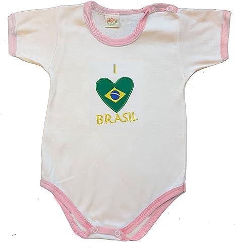 Zigozago - Body Mameluco bebè Brasil - Talla: 0 Meses Color ...
