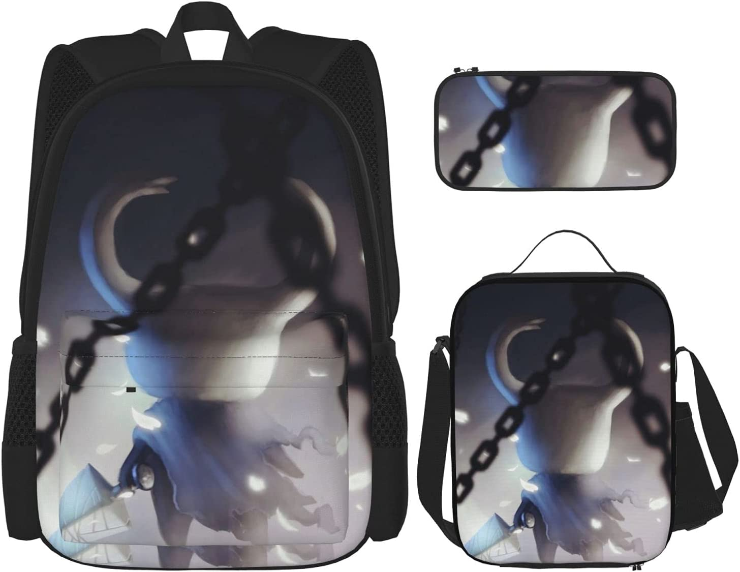 Ranking TOP9 Hollow Knight Indianapolis Mall Warrior Student Youth 3 Set Wit Piece Backpack