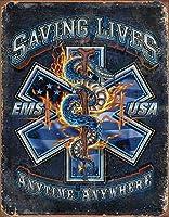 EMS-いつでもどこでも命を救うティンサイン
