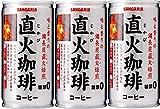 ベバレッジカンパニー サンガリア 直火珈琲 糖質ゼロ 185G 1缶