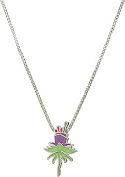 Wrinkle In Time - Purple Uriel Flower 18 Inch Adjustable Necklace