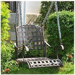 Amazon Com Wrought Iron Porch Swings Patio Seating Patio Lawn