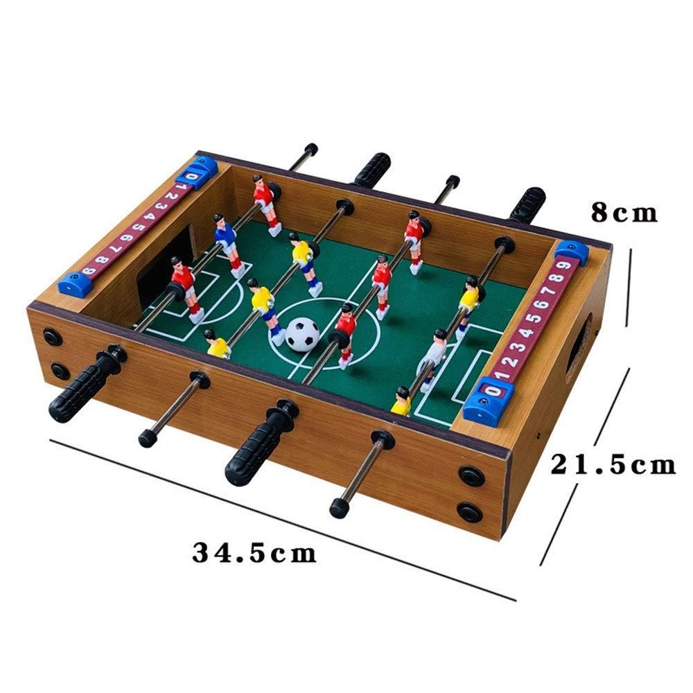 Mesa de futbolín Adultos y niños Mini mano portable recreativo de ...