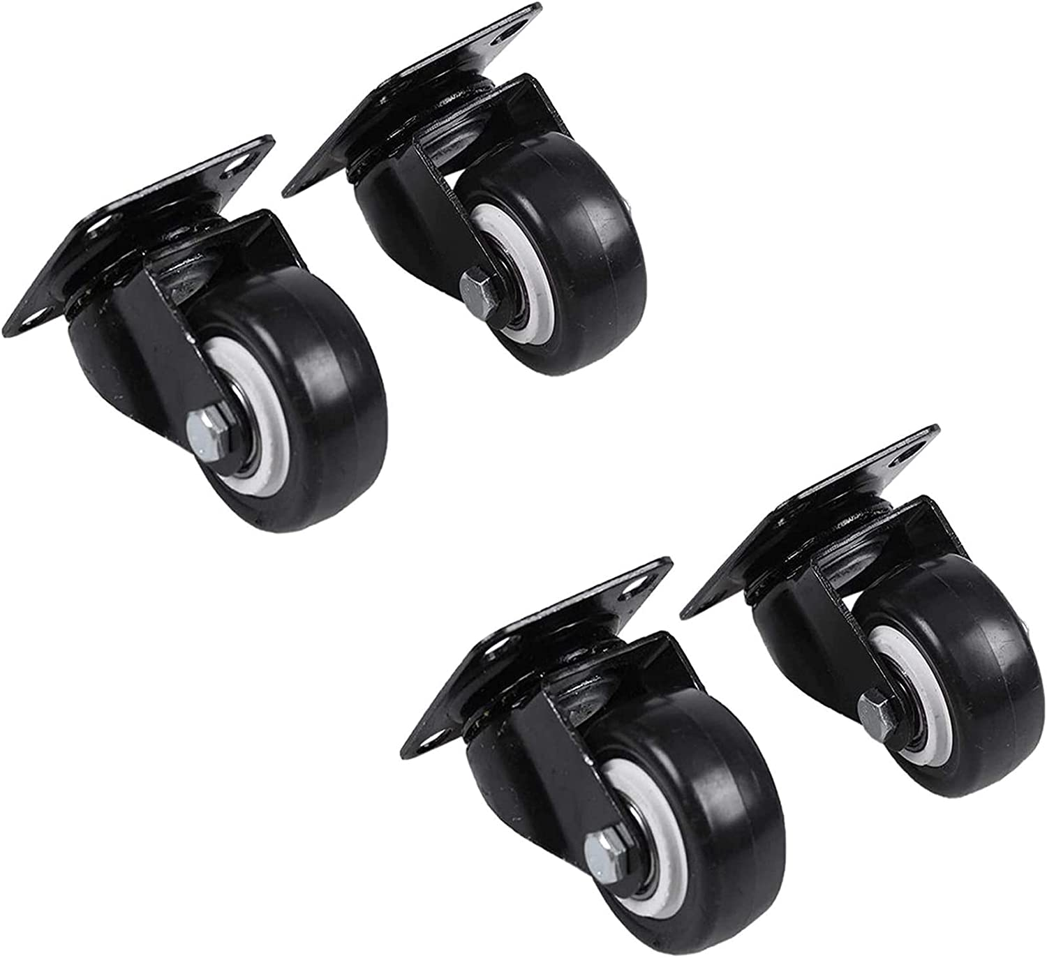 ZHAWE Replacement Max 88% OFF Office Chair trust Casters 4 Furniture Pcs O