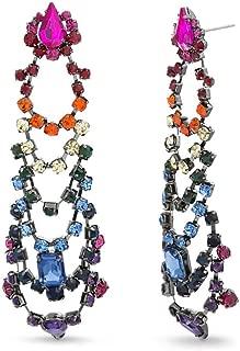 Best rainbow chandelier earrings Reviews