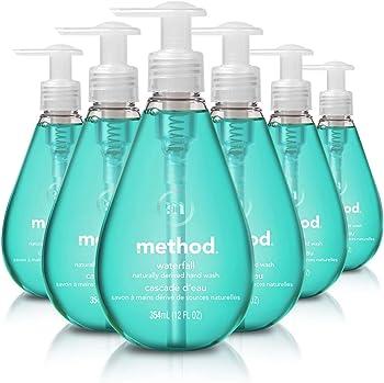 6-Pack Method Gel Waterfall Hand Soap (12 fl. oz)