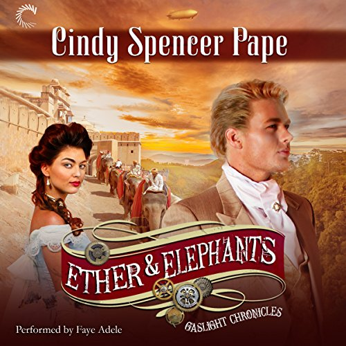 Ether & Elephants audiobook cover art