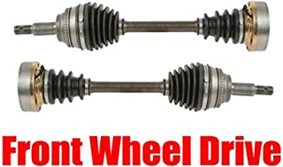 2 New FRONT CV Drive Axle Shaft Fits Lexus RX300 1999-03 All Wheel Drive FRONT