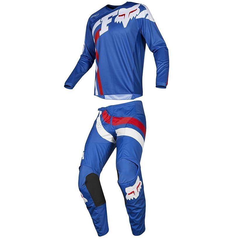 Fox Racing 2019 180 COTA Jersey and Pants Combo Offroad Gear Set Adult Mens Blue XL Jersey/Pants 36W