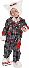 Italian Made Baby,Toddler & Older Boys Deluxe White Rabbit Alice in Wonderland Halloween Fancy Dress Costume Outfit 1-6 Yrs
