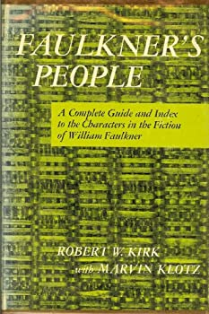 Hardcover Faulkner's People. A Complete Guide And Index To Characters In The Fiction Of William Faulkner Book