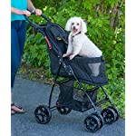 Pet Gear Happy Trails Pet Stroller for Cats/Dogs, Easy Fold with Removable Liner, Storage Basket (PG8030NZJGA) 10