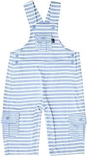 JoJo Maman Bebe Baby Stripe Jersey Dungaree