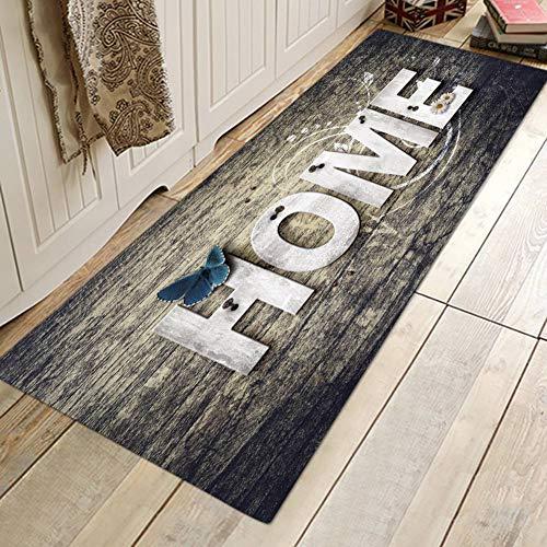 Lucoss Felpudos Entrada Casa - Alfombra Pasillo Antideslizante Largos - Alfombra Lavable para Puerta Recibidor Pasillo Cocina Dormitorio,40x60 cm / 50x80 cm / 40x120 cm / 60x180 cm