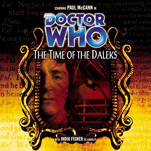 Doctor Who - The Time of the Daleks audiobook cover art