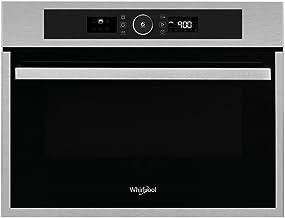 Whirlpool AMW 9607/IX Integrado - Microondas (Integrado, Microondas combinado, 40 L, 900 W, Giratorio, Acero inoxidable)