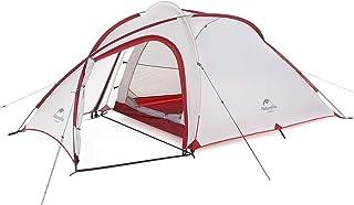 Naturehike公式ショップ テント 自立式 Hiby 2-3人用 2ルーム 超軽量 広い前室 タープスペース付き 二重層構造 アウトドア キャンプ 登山 防雨 防風 防災