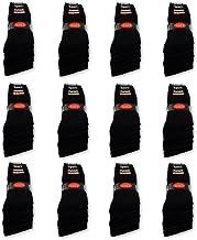 10 tot 60 paar sportsokken tennissokken werksokken heren dames sokken zwart katoen