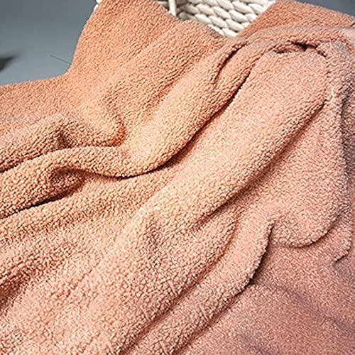 XiaoLong Diente Rosa Tela de Peluche Minky 160cm de Ancho Se Utiliza para Coser Bricolaje Fiestas Decoraciones Navideñas Ropa Deportiva Tapicería y de Moda para el Hogar Vendido por 1m(Size:1.6 * 1m)