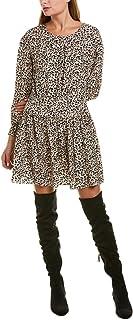 فستان حريمي بأكمام طويلة من Rebecca Taylor