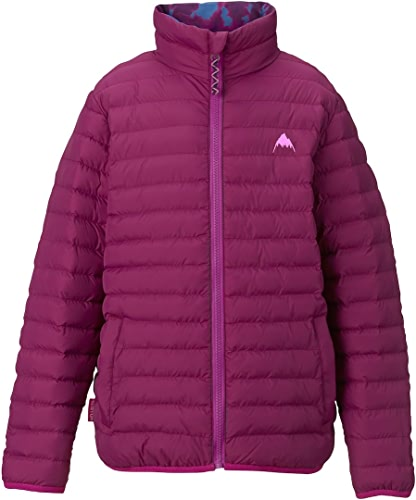 Burton Youth Flex Puffy veste, Grapeseed Gigit Surf Stripe, Medium