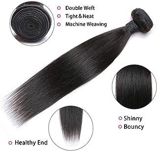 8A Brazilian Straight Hair 1 Bundle 20inch Unprocessed Human Hair Bundle Deals Brazilian Virgin Straight Hair Bundles Natural Color