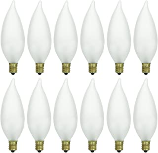 incandescent flame bulb