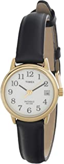 Timex Women's Easy Reader 25mm Leather Strap Watch T2H341