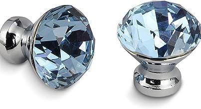 Temhyu Shuxiang-Exquisite Handvat 30mm Diamond Shape Design Crystal Glass knoppen, kast trekt, keukenkast handgrepen, lade...