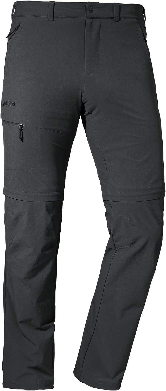 schnell trocknende und k/ühlende Wanderhose aus 4-Wege-Stretch Sch/öffel Herren Pants Koper1 Zip Off flexible und bequeme Herren Hose mit Zip-Off Funktion