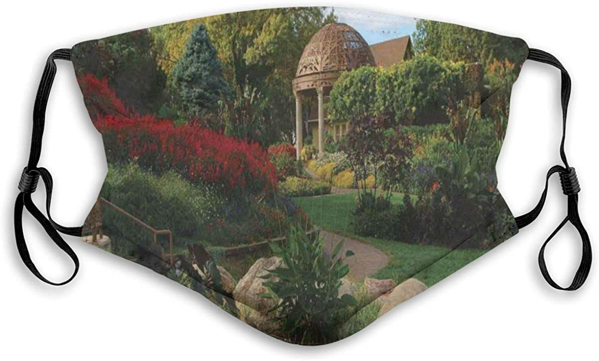 Picture of A Gazebo at Overseas parallel import regular item The Direct stock discount in Gardens Lincoln City Sunken Bloomi