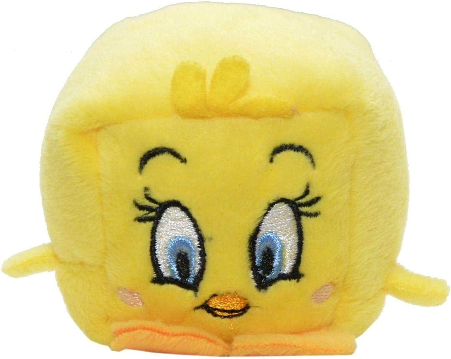 WB Character Kawaii Cubes 2.25  Plush  Tweety Bird