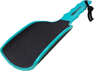 Onyx Professional RX XL Curved Foot File with Handled Grip - Extra Grit Exfoliates & Removes Dead Skin
