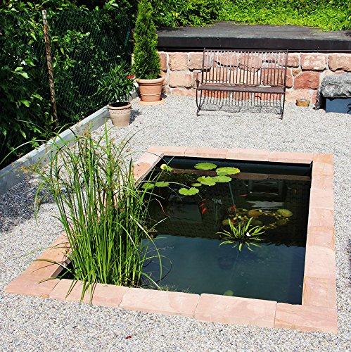 Wasserbecken 1400 Liter – Das moderne Teichbecken von der Firma Haslbeck. - 3