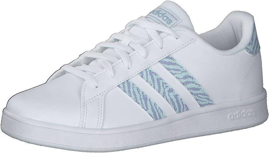 adidas Grand Court K, Chaussure de Piste d'athltisme Mixte