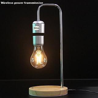 VGAzer Magnetic Levitating Floating Wireless LED Light Bulb for Desk Lamp,Room or Office Decor,Unique Gifts