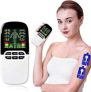 YourBoob Máquina TENS Premier 8 Mode, decenas de Doble Canal Totalmente Recargables y estimulador Muscular Ideal para Tratar el estrés del Cuello de la Espalda Dolor ciático y Alivio Muscular