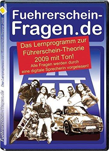 Führerschein-Fragen.de 2009 mit Ton: Das Lernprogramm zur Führerschein-Theorie vertont mit virtueller Sprecherin: Das Lernprogramm zur ... CD-Rom für Windows 98, NT, 2000, XP und Vista