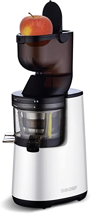 Estrattore di succo, 250 w, colore: bianco biochef atlas whole slow juicer B00RKU68X6
