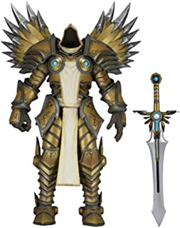 HNBY Archangel Tyrrell Lich King Alsace Toy Statue Toy Model PVC Static Character Statue Desktop Decoration 15CM (Color : B)