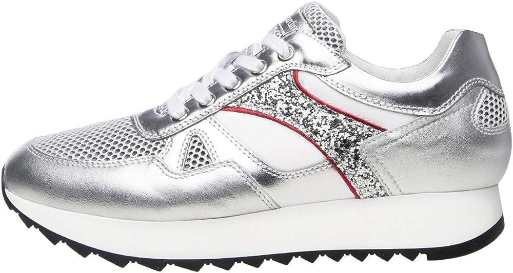 Nerogiardini sneakers per donna pelle/tela E010522D