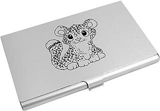 Azeeda 'Snow Leopard' Business Card Holder / Credit Card Wallet (CH00015822)