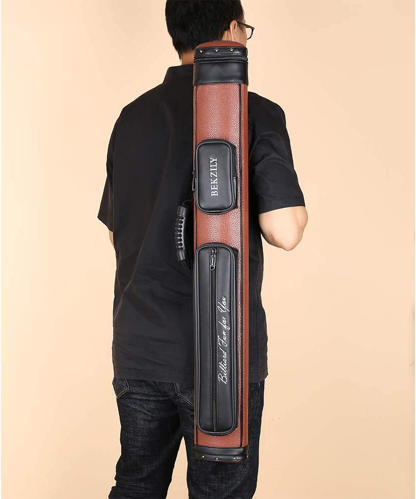 2X2 Billiards Pool Cue Tube Carrying Case